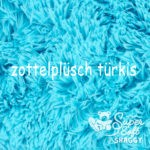 Zottelfell - Türkis (+10Euro)